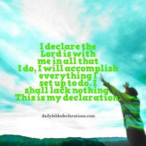 I will accomplish all I set out to do
