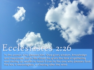 Ecclesiastes 2 26