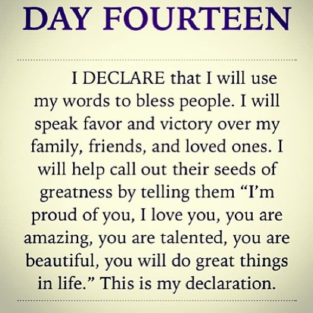 Ideclare 31 Declarations To Speak Over Your Life Joel Osteen Daily Bible Declarations