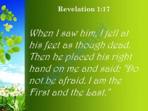 revelation_1_17_i_fell_at_his_feet_as_powerpoint_church_sermon_Slide03