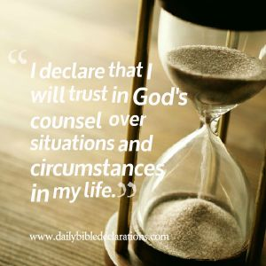 God's counsel