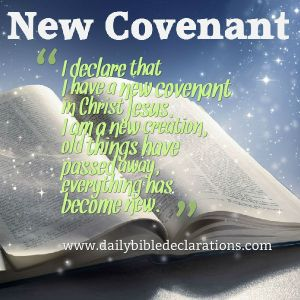 New covenant in Christ
