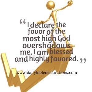blessed and highly favoured