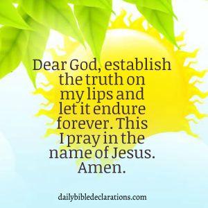 establish the truth