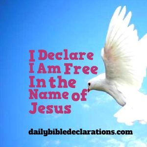 free in the name of Jesus