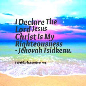 Jehovah Tsidkenu1