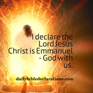 Lord Jesus Christ is Emmanuel