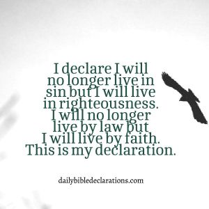 My righteousness