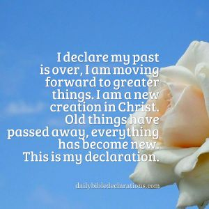 past is over