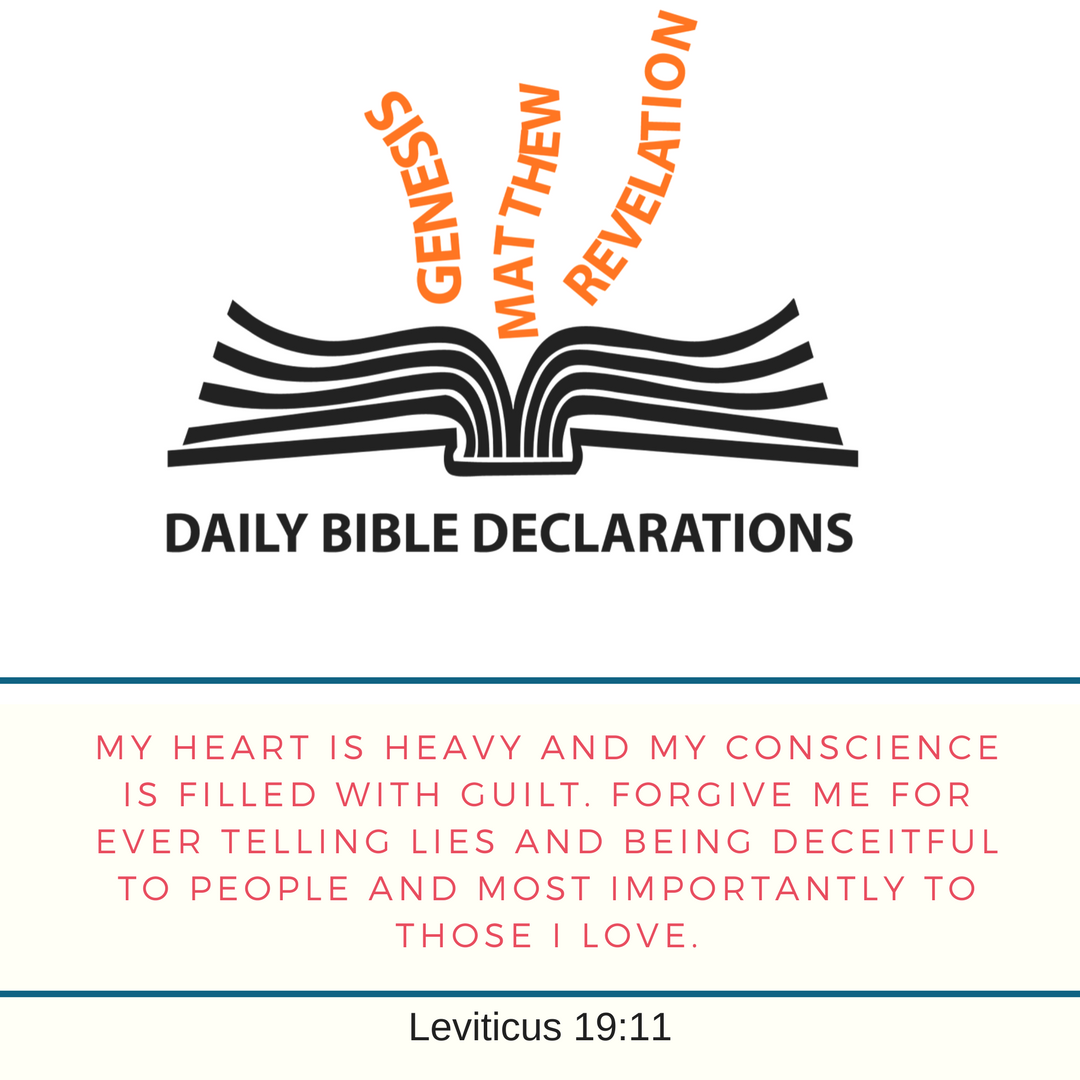 Prayer of Forgiveness for Telling Lies and Being Deceitful – DAILY