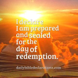 Sealed for the day of redemption