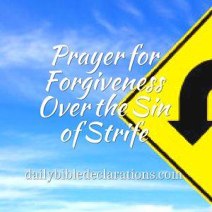 Sin of strife