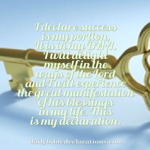 success is my portion