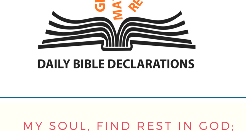 Combat Low Self-Esteem – DAILY BIBLE DECLARATIONS