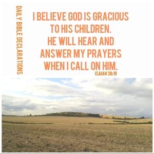 Waiting on God in prayer