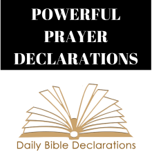 Powerful Prayer Declarations