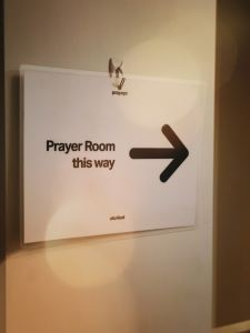 Prayer room -