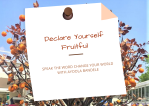 Fruitfulness declaration prompt card