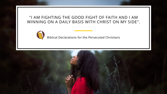 Declarations for the Persecuted Christians