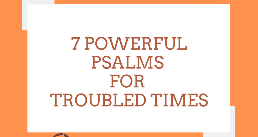 Psalms for troubled times