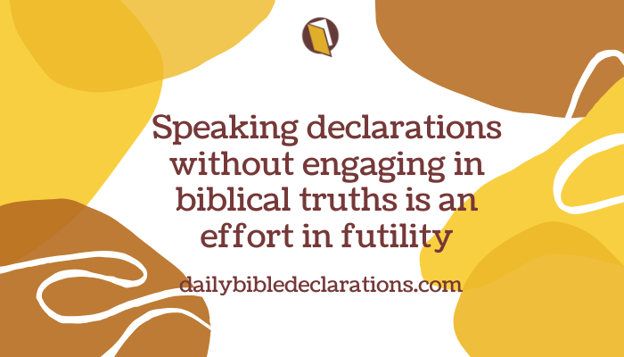 Declarations and the Words